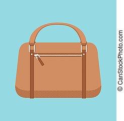 Business bag vector illustration