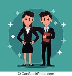 Business bankers teamwork