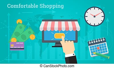 Business Banner - Comfortable Shopping