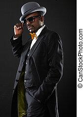business black man