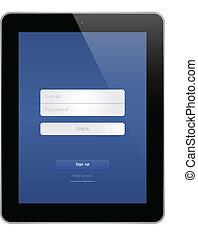Business Black Tablet