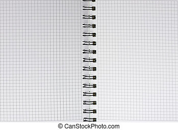 business blank note pad spiral