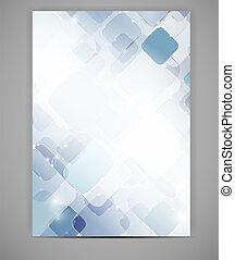 Business blank template vector illustration