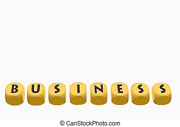 Business Blocks Concept
