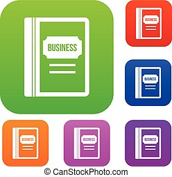 Business book set collection