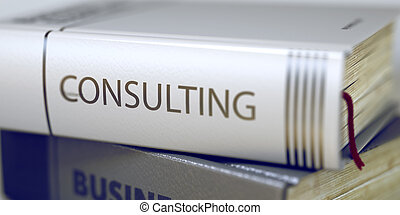 Business - Book Title. Consulting.
