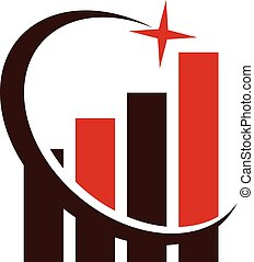 Business Boost Logo Design Template Vector