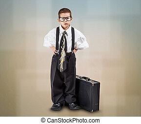 Business boy