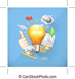 Business brainstorming concept