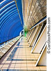 Business Bridge - Interior of the Business Centre Bridge...