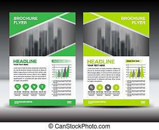 Cover annual report design vector illustration yellow vector business brochure flyer template vector illustration green cover design annual report cover magazine spiritdancerdesigns Images