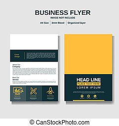 Business Brochure layout background