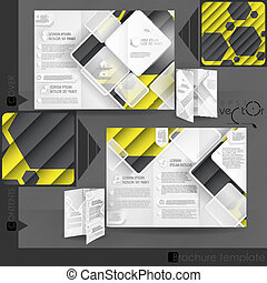 Business Brochure Template Design