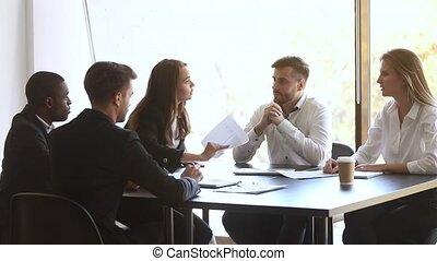 business, brunette, conflit, agressif, femmes affaires, ...