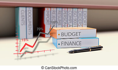 Business budgeting concept