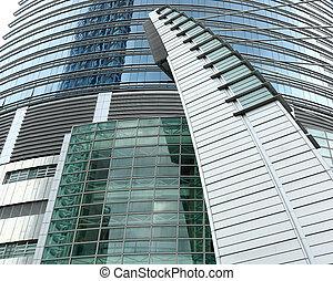 business building exterior background