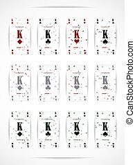 Business card as a playing card