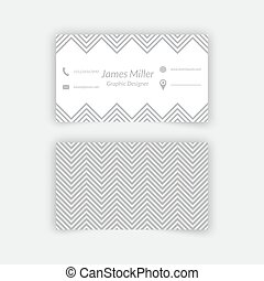 Blank business card with shadow mockup cover template blank business card blank template reheart Images