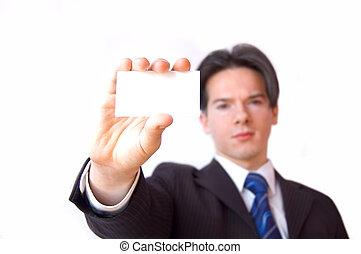 Business card conceptual image.