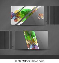 Business card spray paint gun painter spraying shield retro clip business card design colourmoves