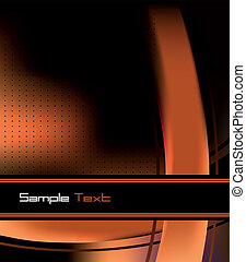 Futuristic business card template vector illustration business card for covers colourmoves