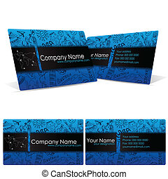 Business Card for Travel Company