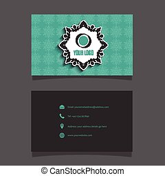 business card layout 0102