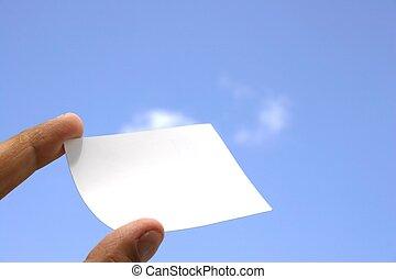 Business Card Sky