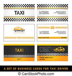 Business card taxi - first set
