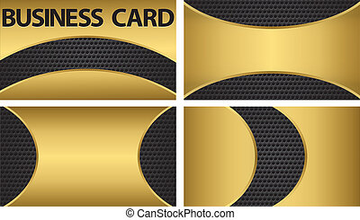 Business card, vector illustration
