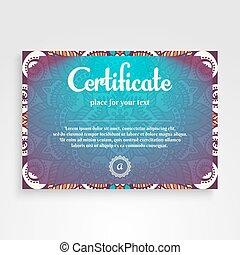 Business Card. Vintage decorative elements. Ornamental...