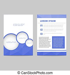 Business card with design