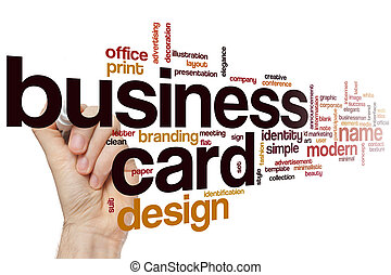 Business manager word cloud concept stock photos search business card word cloud reheart Images