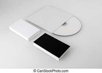 Blank business cards and cd business cards and compact disk business cards and cd reheart Images