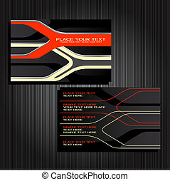 business cards set 28