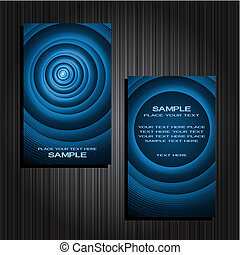 business cards set 34