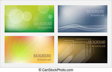 Business cards template. Vector illustration.