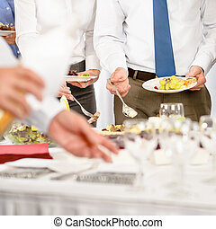 Business catering for company event