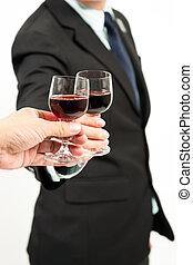 Business celebration