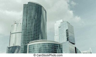 Business center Moscow-City, timela