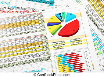Business Chart and Graphs