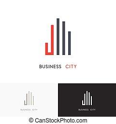 Business city logo
