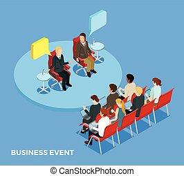 Business Coaching Isometric Template - Business coaching ...