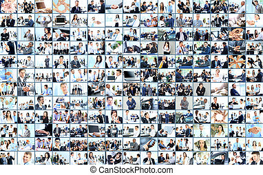 Business collage