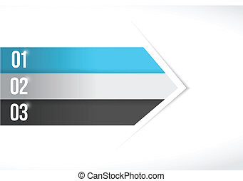 color lines arrow for customization info graphics