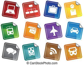 Business Communication Stickers