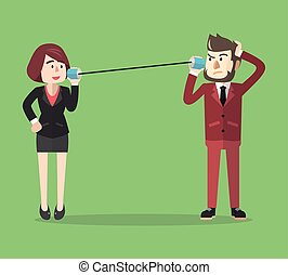 Business communication tin