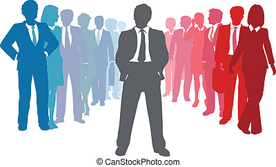 Business company people team leader - Business leader joins ...
