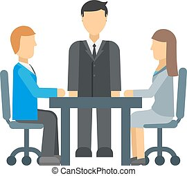 Business Competition vector illustration.