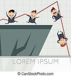 Business concept about crisis2